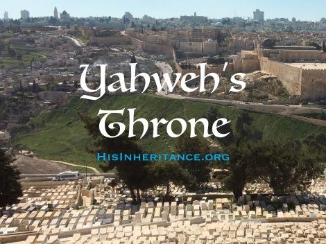 Yahweh's Throne